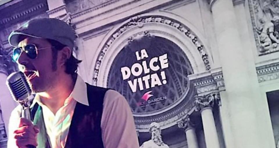 italienischer Sänger King-Grace